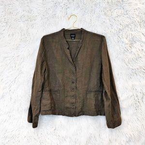 Eileen Fisher Irish linen blazer or jacket